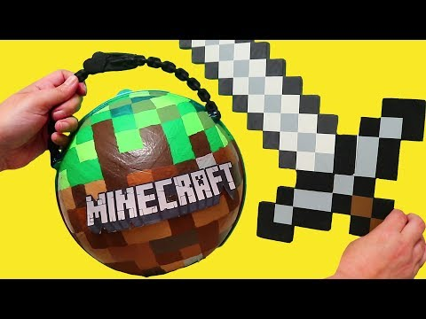 Minecraft Custom LOL Surprise Ball ! Toys and Dolls Fun Play for Kids | SWTAD