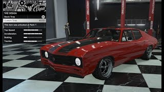 GTA 5 - DLC Vehicle Customization - Declasse Tulip and Review