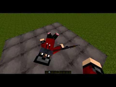 Обзор модов Minecraft #12 - Статуи ( ModelCitizens )
