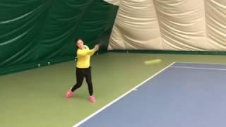 Теннис. Дневник тренировок. 29.