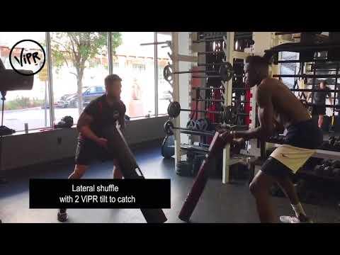 Basketball Star Amida Brimah Training with ViPR