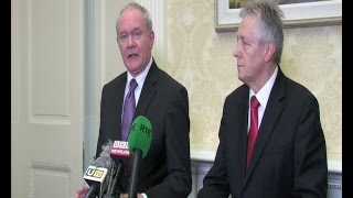 Stormont Agreement: Political institutions the best way forward - McGuinness