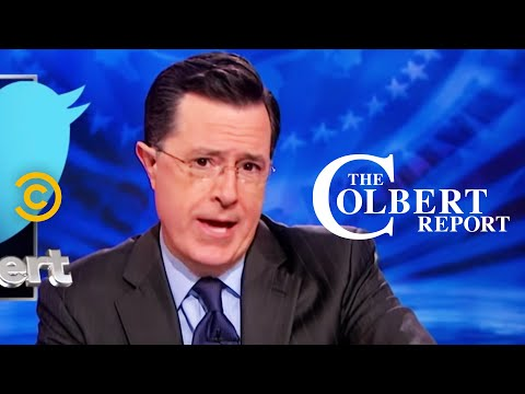 Thumbnail: The Colbert Report - Who's Attacking Me Now? - #CancelColbert