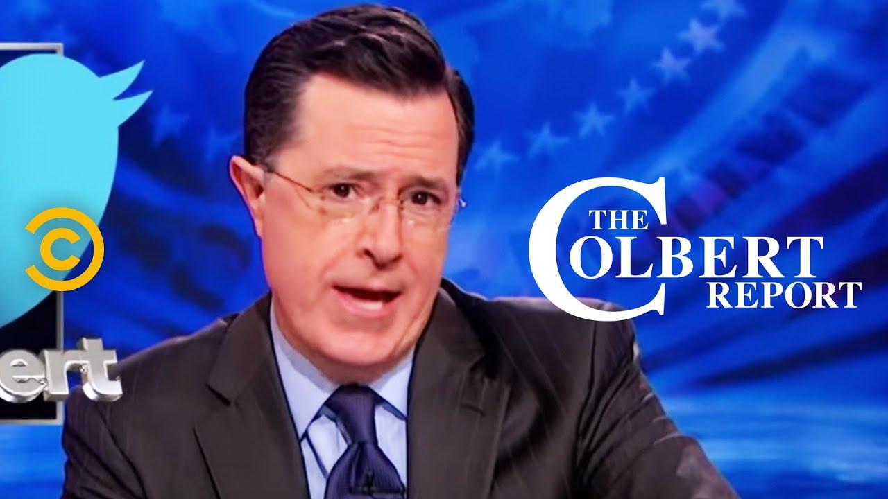 The Colbert Report Tweets Racist Joke, Twitter Users Rally ...
