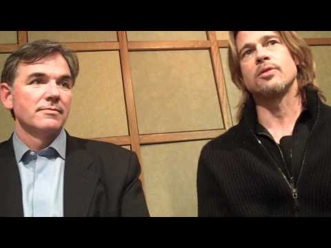 Brad Pitt and Billy Beane Talk MONEYBALL, Interview