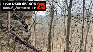 There's a BIG one in these woods, INSANE Rub Line - 2020 Deer Season Ep 25