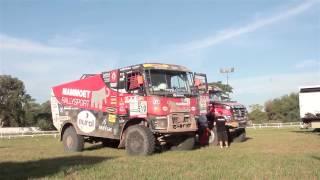 "Команда ""КАМАЗ-мастер"" на Дакаре 2017 - 4 января Video"