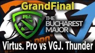 VP vs VGJ Thunder Game 1 Grand Final PGL BUCHAREST MAJOR 2018 Highlights Dota 2
