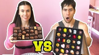 $1 BOX OF CHOCOLATES VS $100 BOX OF CHOCOLATES