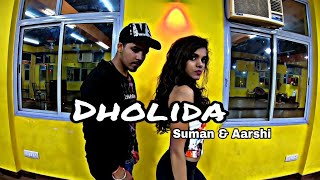Suman And Aarshi || Dholida || LOVEYATRI || New Dance Choreography.