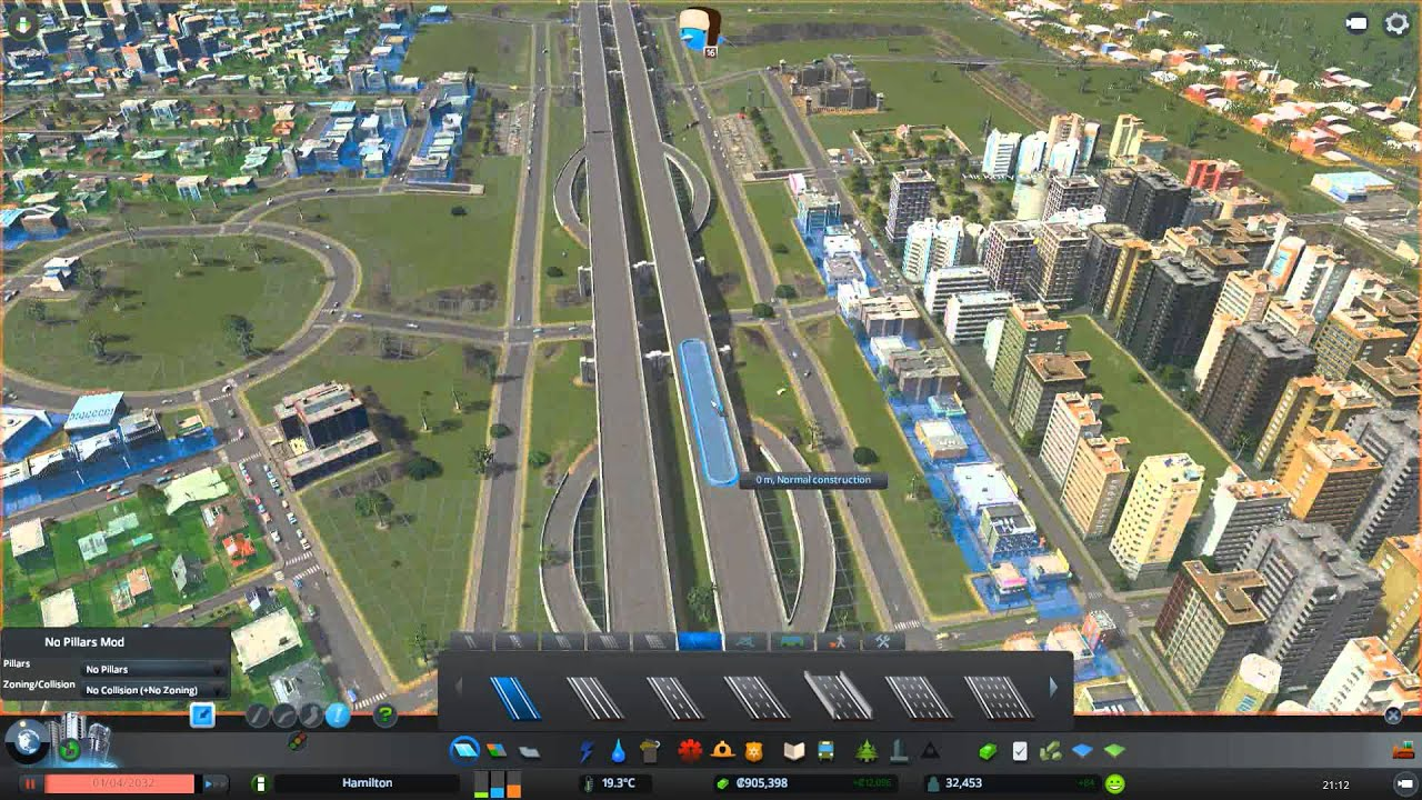 cities skyline how to build pavement