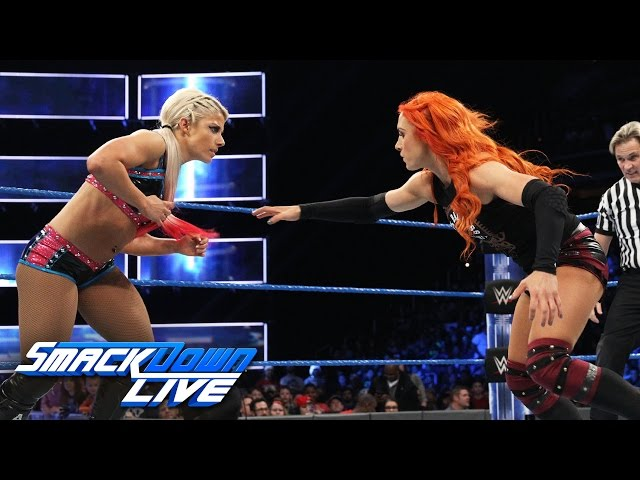 Becky Lynch vs. Alexa Bliss – SmackDown Women's Championship Match: SmackDown LIVE, 13 Dec., 2016