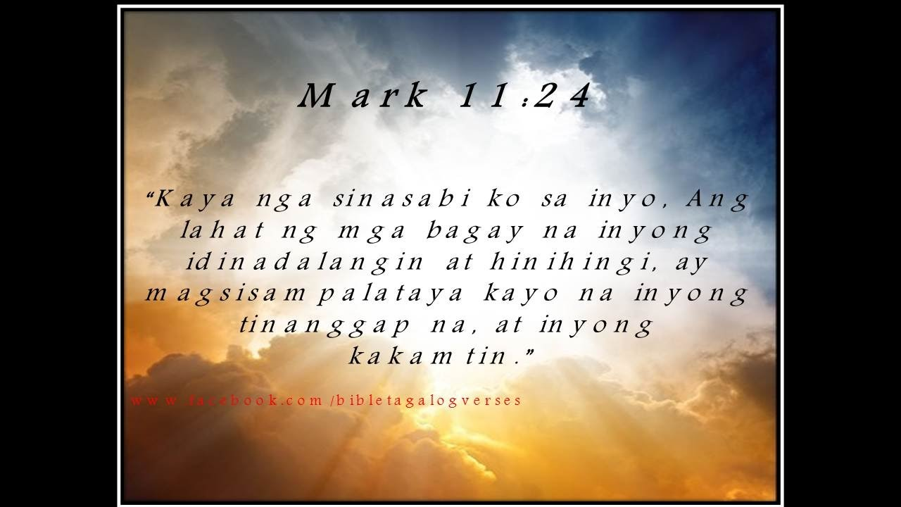 90 Bible Verses For The Philippines In Tagalog Youtube 1 Juan 4 16