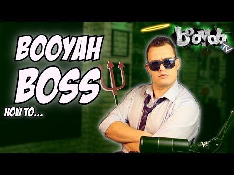 HOW TO BOOYAH BOSS!!  BOOYAH TV