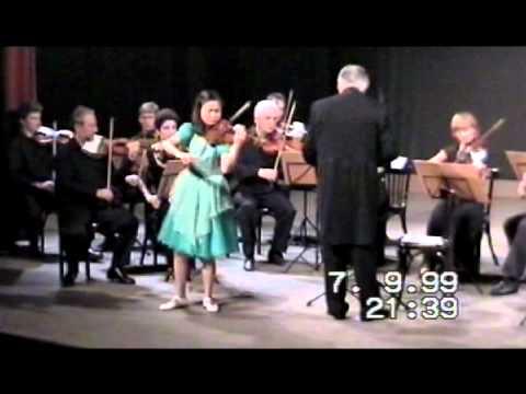 Sayaka Shoji  plays Paganini-I Palpiti, Conductor- S.Sondeckis, Orchestra of Patras