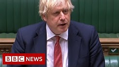 Boris Johnson addresses MPs after new detail about lockdown - BBC News