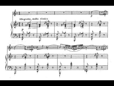 Fritz Kreisler - Gypsy Caprice for violin and piano (audio + sheet music)
