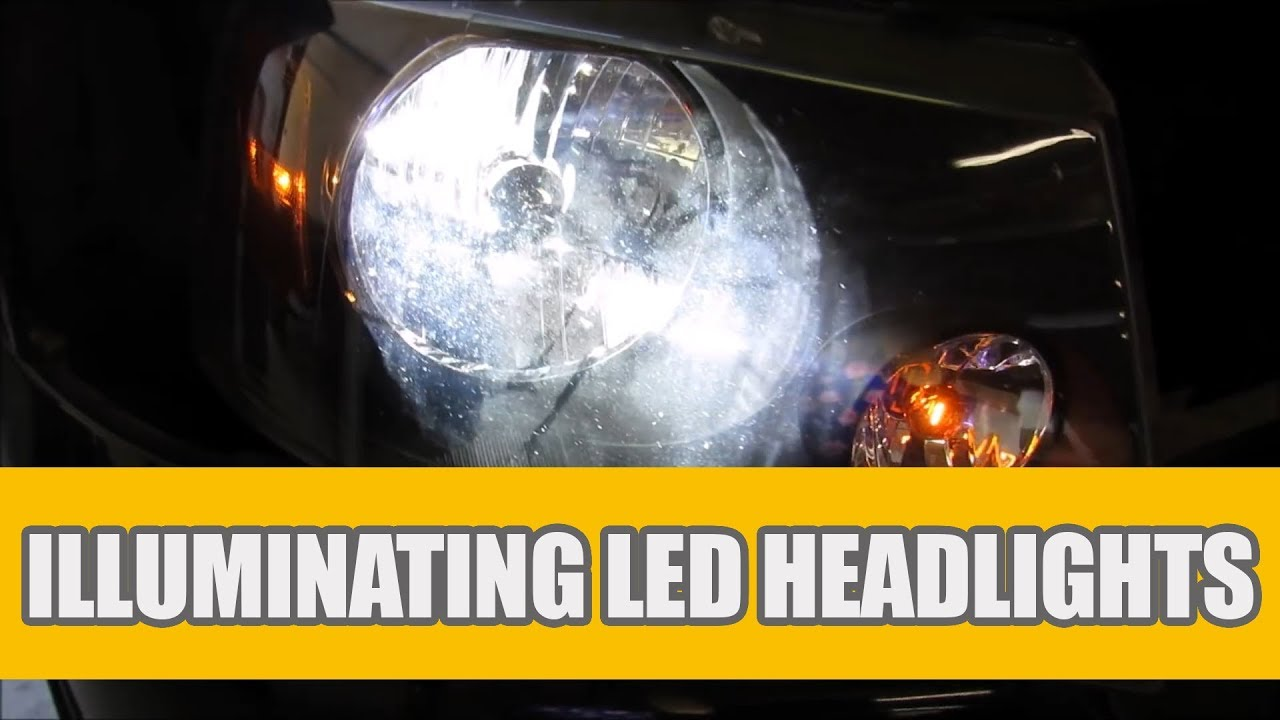 How to Install H13 LED Headlight bulbs for 2004 - 2014 Ford F-150? H Light Plug Wiring Diagram on