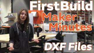 1B Maker Minuten: het Creëren van DXF-Bestanden