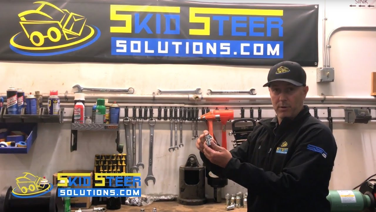 Skid Steer Hydraulic Couplers Sizing and Overview