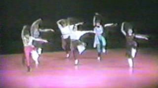 Dance ballet jazz show fermont 1983