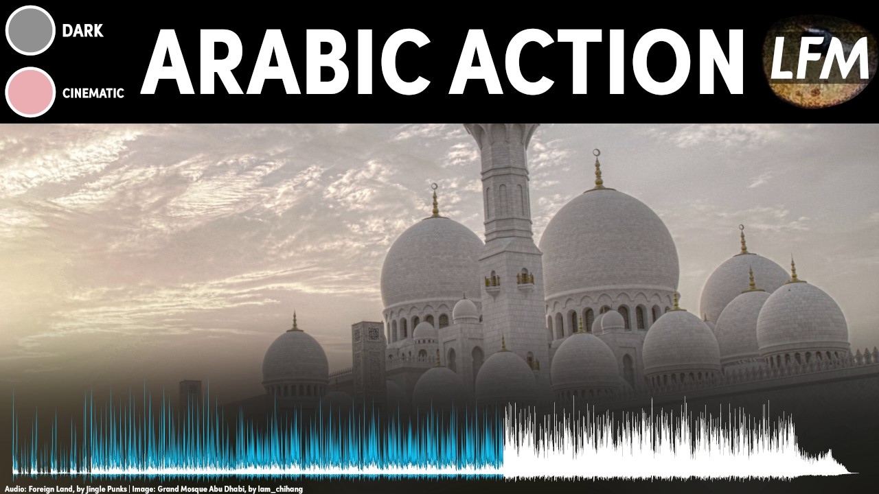 Arabic Action Theme Background Instrumental | Royalty Free Music