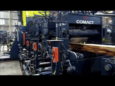 Comact TBL3 12'' Shape Sawing Gang With Profiling Tools