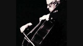 Rostropovich plays Shostakovich Cello Concerto No. 1 - 1/4