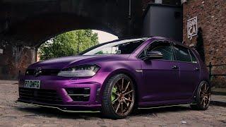 Purple & Green, Joker Style Golf R - R7_OMFG