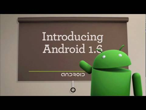 Android 1.6 Official Video