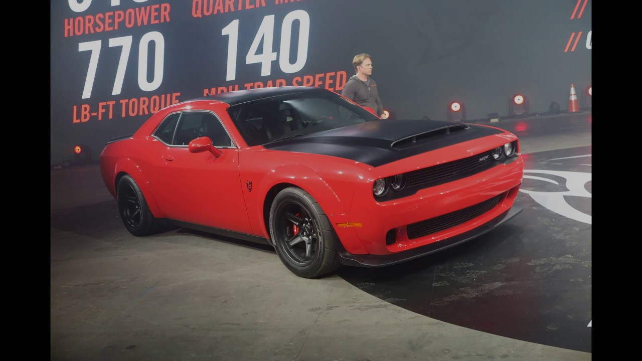 Dodge 0 60 >> Dodge Demon Uncaged 0 60 In 2 3 Seconds 840 Hp Newcarnews Tv