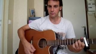 Les souliers rouges - Vivre ou ne pas vivre - comment jouer tuto guitare YouTube En Français