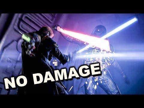 """Star Wars Jedi Fallen Order (No Damage) - All Bosses """"Jedi Grand Master"""""""