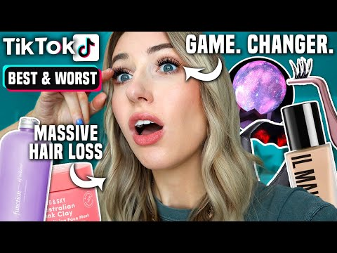BEST (& WORST) TIK TOK, AMAZON & OVERLY SPONSORED PRODUCTS I'VE TESTED SO FAR
