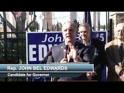 John Bel Edwards #GeauxVote Event in Alexandria