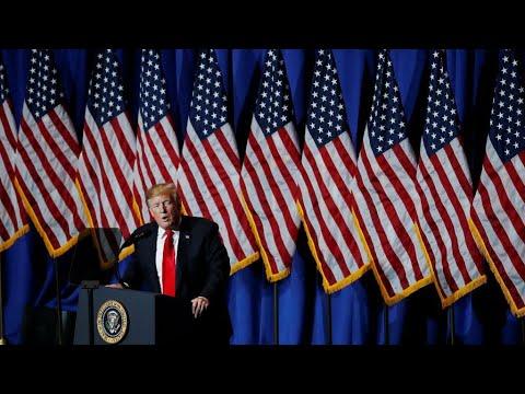 """Nunca amenace a Estados Unidos"": advirtió el presidente Trump a Irán"
