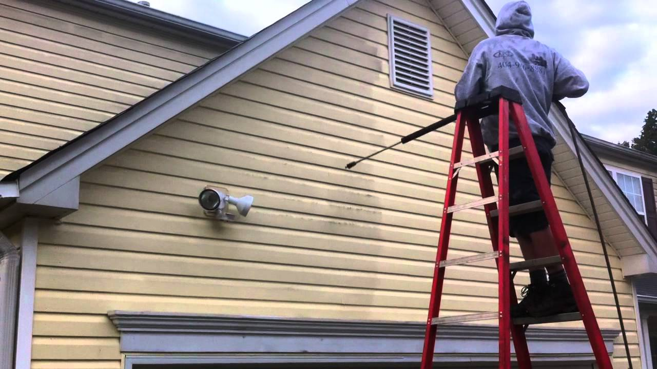 House Pressure Washing House Chicago Siding Cleaning