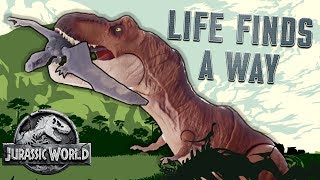 "Jurassic World Dinosaur Song: ""Life Finds a Way"" - Official Lyric Video 