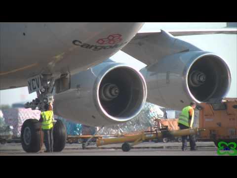 Milan Malpensa Airport proudly welcomes Cargolux Italia Boeing B747-4R7F