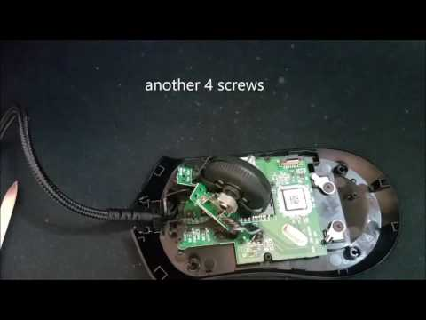 G403 - Paracord mouse cable Installation - full cover