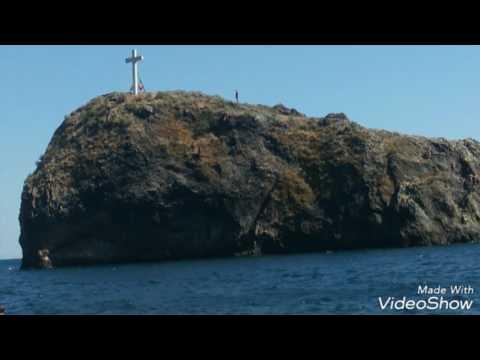Мыс Фиолент. Яшмовый пляж. Разбежавшись прыгну со скалы
