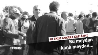 10 Ekim 2015'te Ankara Garı önünde ne oldu?