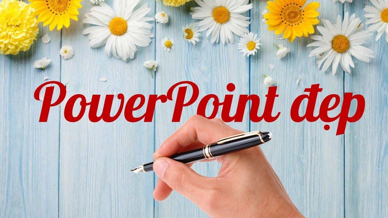 Cách tạo hiệu ứng bàn tay viết chữ handwritting PowerPoint