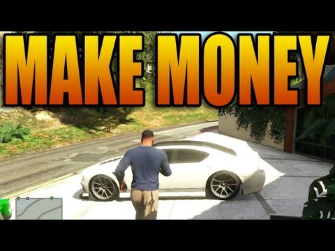 How to Make a TON of Money in Grand Theft Auto V! (Not Lester Missions - GTA V Singleplayer)