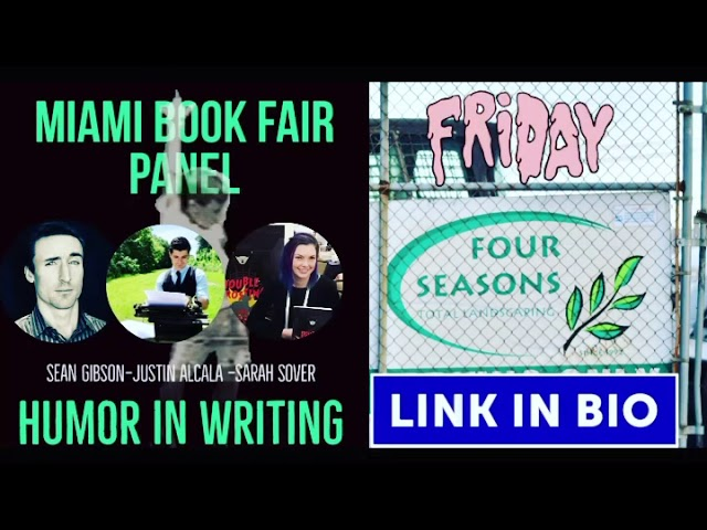 COME JOIN AUTHOR JUSTIN ALCALA AT THE (VIRTUAL) MIAMI BOOK FAIR!