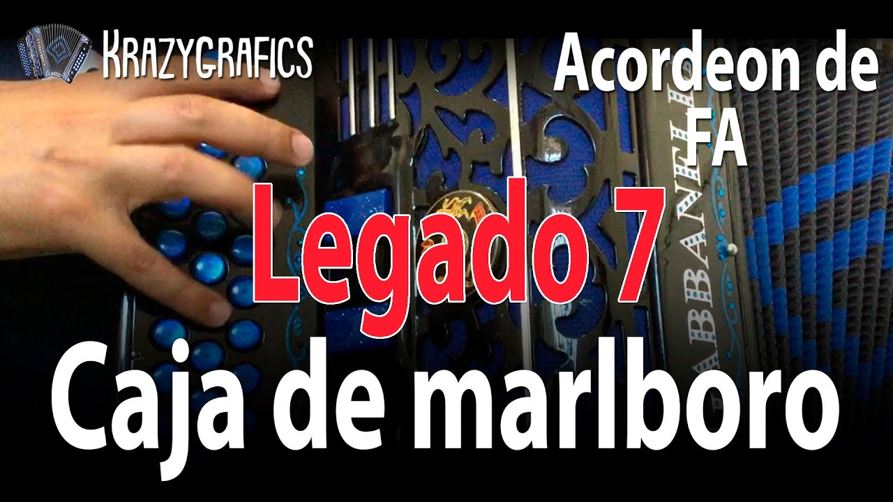 Caja de marlboro INTRO | Legado 7 | ACORDEON DE FA