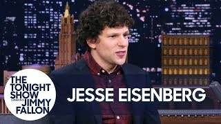 Jesse Eisenberg Shows Off His Most Elaborate Halloween Costume