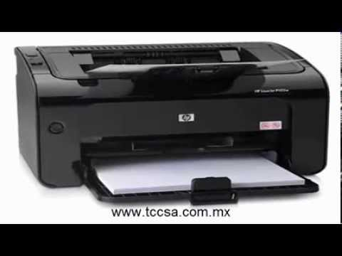 Impresora Laser Hp P1102w Wifi Youtube