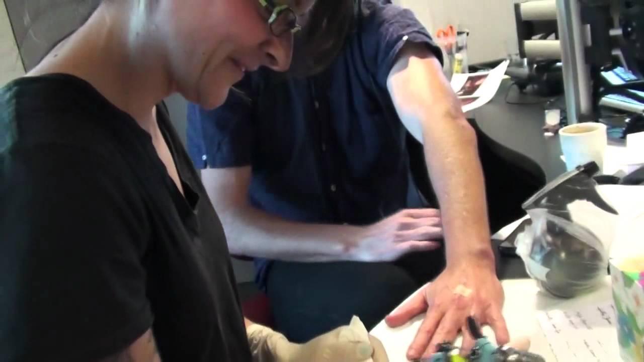 hughesy gets a tattoo as his wedding ring youtube