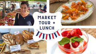 French Market Tour + Lunch! (BETH IN FRANCE 🇫🇷)